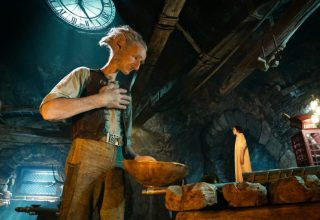Mark Rylance and Ruby Barnhill star in Walt Disney's THE BFG