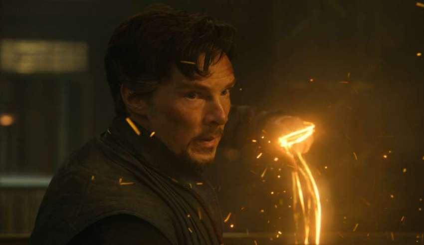 Benedict Cumberbatch stars in Marvel's DR. STRANGE