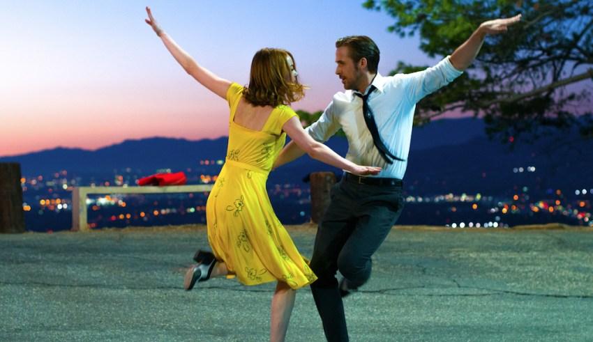 Emma Stone and Ryan Gosling star in Lionsgate's LA LA LAND