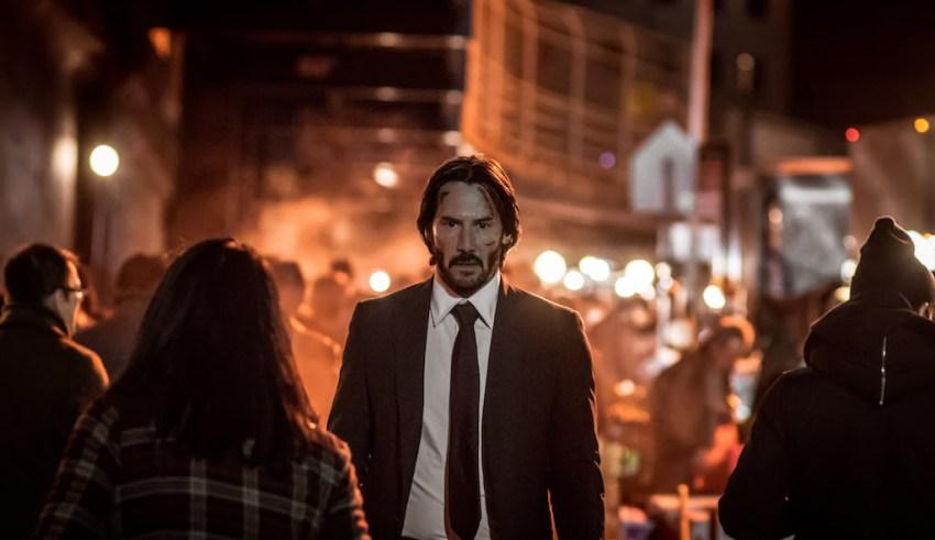 Keanu Reeves stars as 'John Wick' in Lionsgate's JOHN WICK: CHAPTER 2