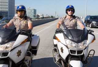 Michael Pena and Dax Shepard star in Warner Bros. Pictures' CHIPS