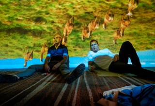 Jonny Lee Miller and Ewan McGregor star in Tristar Pictures' T2: TRAINSPOTTING