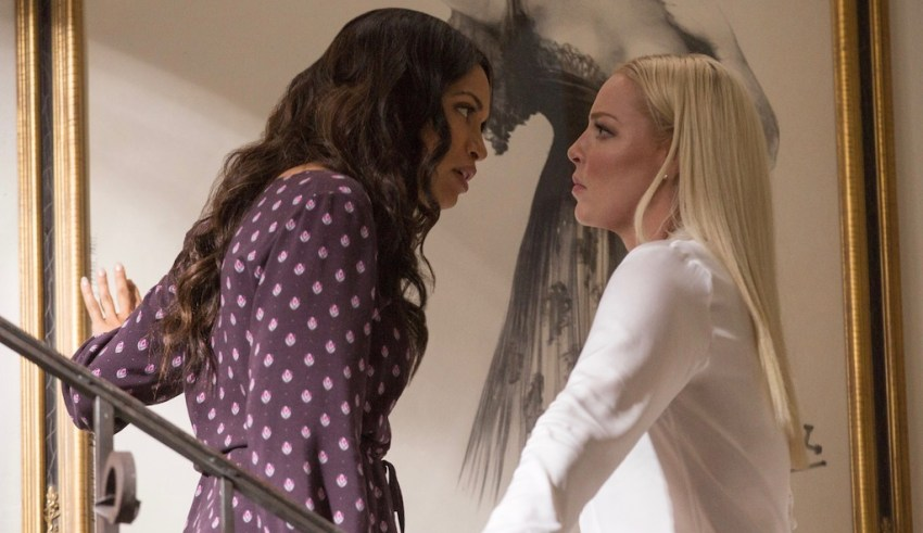 Rosario Dawson And Katherine Heigl star in Warner Bros. Pictures' UNFORGETTABLE