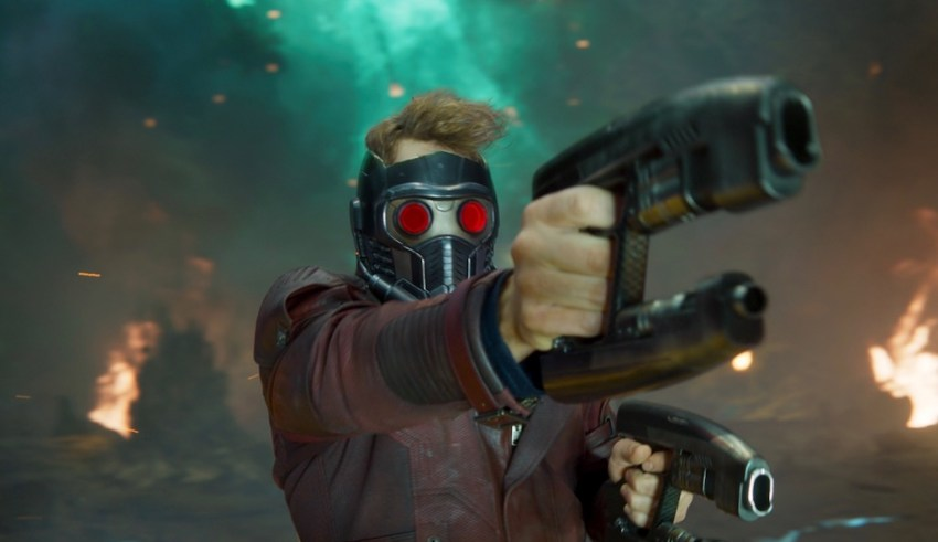 Chris Pratt stars in Marvel's GUARDIANS OF THE GALAXY VOL. 2