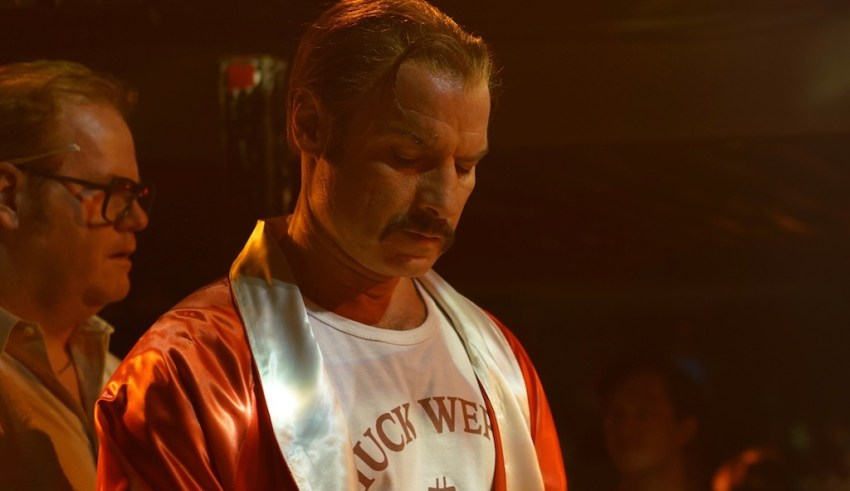 Liev Schreiber and Jim Gaffigan star in IFC Films' CHUCK