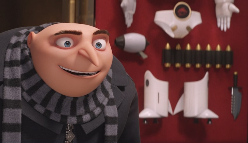 Steve Carell stars in Universal Pictures' DESPICABLE ME 3