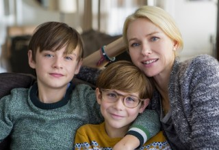 (L-r) Jaeden Lieberher, Jacob Tremblay and Naomi Watts star in Focus Features' THE BOOK OF HENRY