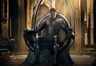 Poster art for Marvel's BLACK PANTHER