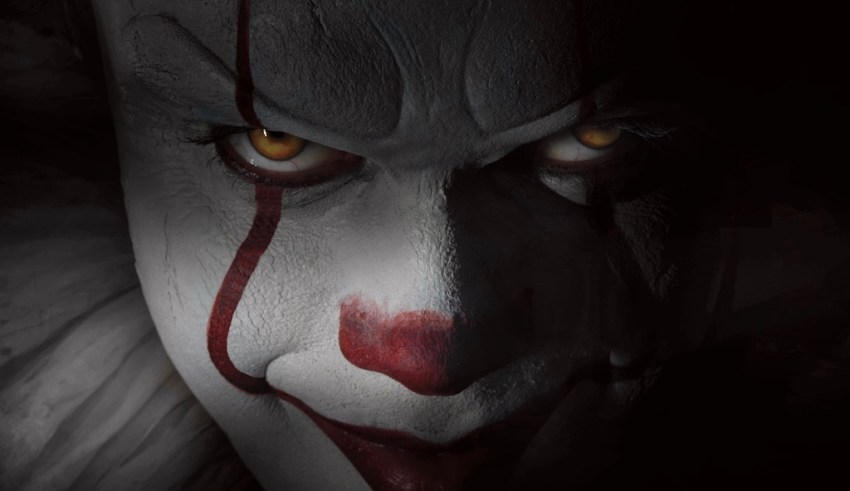 Bill Skarsgård stars as Pennywise in Warner Bros. Pictures' IT