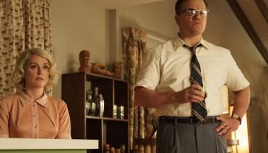 (L-r) Julianne Moore and Matt Damon star in Paramount Pictures' SUBURBICON