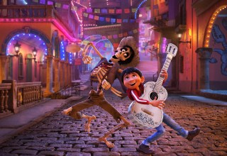 Gael Garcia Bernal and Anthony Gonzalez star in Disney Pixar's COCO