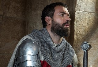 Tom Cullen stars in The History Channel's KNIGHTFALL