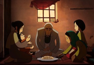 A scene from the new animated film THE BREADWINNER