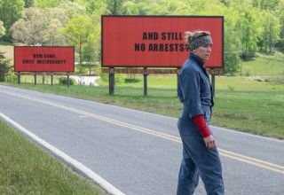 Frances McDormand stars in Fox Searchlight's THREE BILLBOARDS OUTSIDE EBBING, MISSOURI