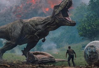Movie still from Universal Pictures' JURASSIC WORLD: FALLEN KINGDOM