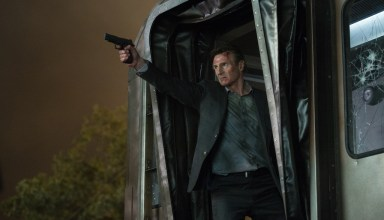 "Liam Neeson as ""Michael"" in Lionsgate Films' THE COMMUTER"
