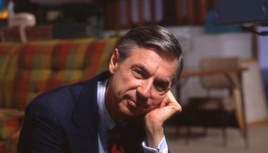 Fred Rogers on the set of his show Mr. Rogers Neighborhood for Focus Features' WON'T YOU BE MY NEIGHBOR
