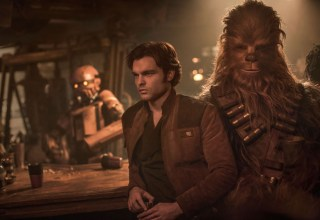 Alden Ehrenreich and Joonas Suotamo star in SOLO: A STAR WARS STORY
