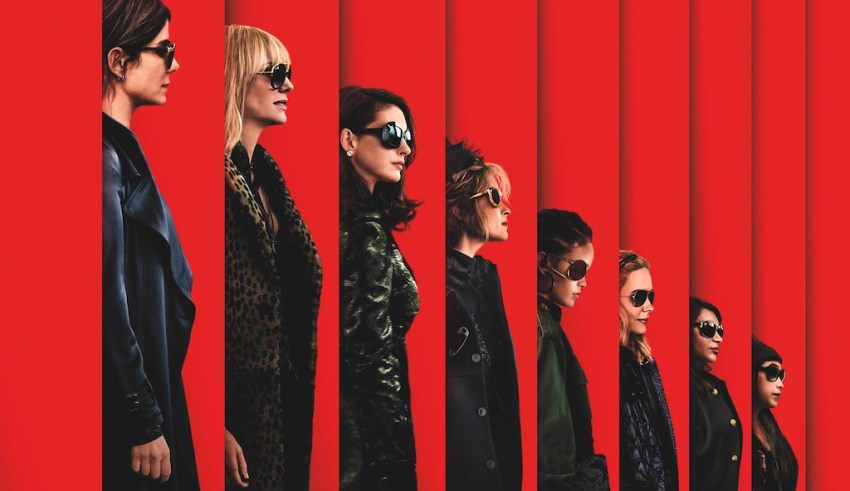 Partial poster image of Warner Bros. Pictures' OCEAN'S 8