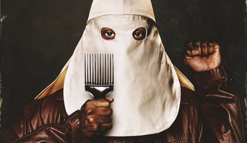 Poster image from Focus Features' BLACKKKLANSMAN