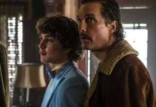 Richie Merritt and Matthew McConaughey star in Sony Pictures' WHITE BOY RICK