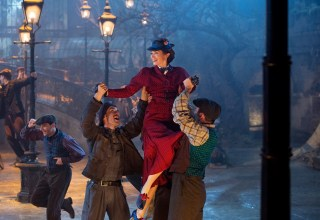 Emily Blunt stars in Disney's MARY POPPINS RETURNS