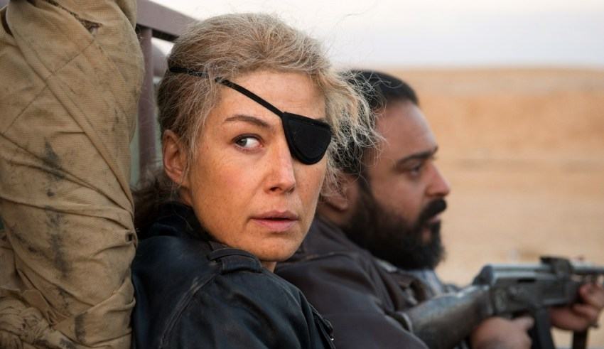 Rosamund Pike stars in Aviron Pictures' A PRIVATE WAR