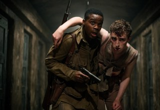 Jovan Adepo and Dominic Applewhite star in Paramount Pictures' OVERLORD