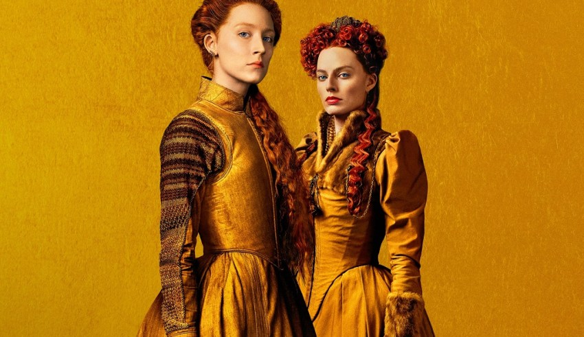 Saoirse Ronan and Margot Robbie star in Focus Features' MARY QUEEN OF SCOTS