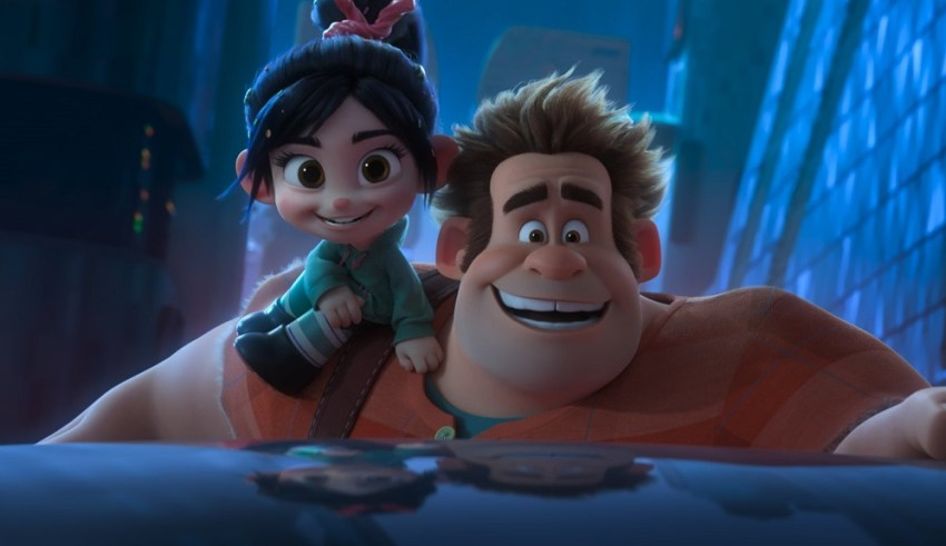 Sarah Silverman and John C. Reilly star in Walt Disney's RALPH BREAKS THE INTERNET