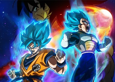 Poster image of DRAGON BALL SUPER: BROLY