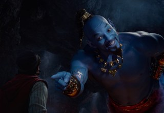 Mena Massoud and Will Smith stars in Walt Disney's ALADDIN