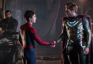 Tom Holland and Jake Gyllenhaal star in Sony Pictures' SPIDER-MAN: ™ FAR FROM HOME