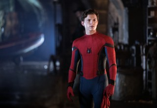 Tom Holland stars as Spider-Man in Columbia Pictures' SPIDER-MAN: FAR FROM HOME