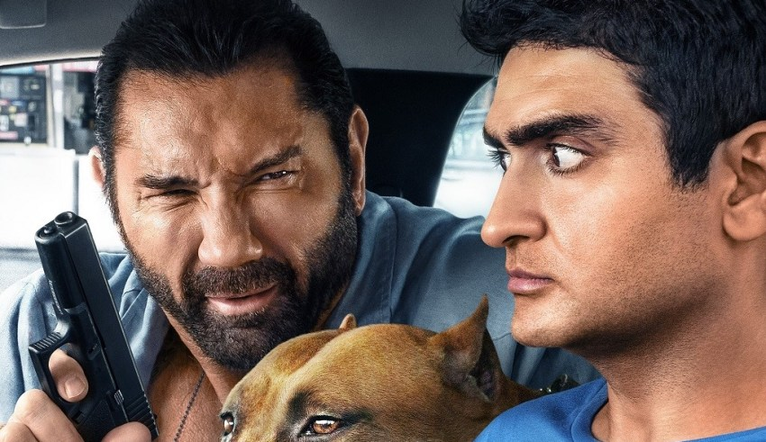 Dave Bautista and Kumail Nanjiani star in 20th Century Fox's STUBER
