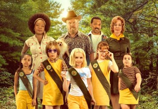 Poster image of Amazon Studios' TROOP ZERO starring Viola Davis, Jim Gaffigan, McKenna Grace, Alison Janney, and Mike Epps