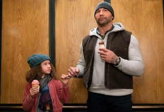 Chloe Coleman and Dave Bautista star in STX Entertainment's MY SPY