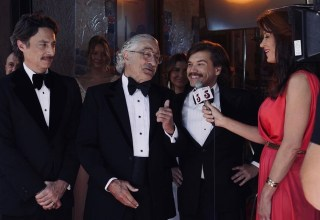 Zach Braff, Robert De Niro, and Emile Hirsch star in Cloudburst Entertainment's THE COMEBACK TRAIL