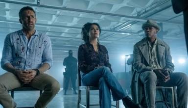 Ryan Reynolds, Salma Hayek, and Samuel L. Jackson star in Lionsgate's HITMAN'S WIFE'S BODYGUARD