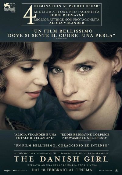 The Danish Girl poster