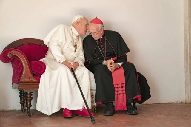 The Two Popes, cinematogrpahe.it