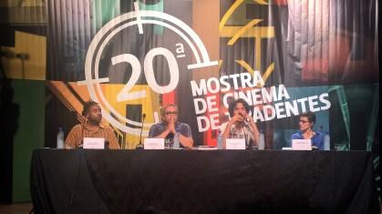 Mesa do Primeiro Debate: Cinema em Reação. Cinema em Reinvenção
