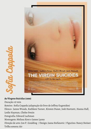 As Virgens Suicidas - Arte por Kel Gomes/Cinematório