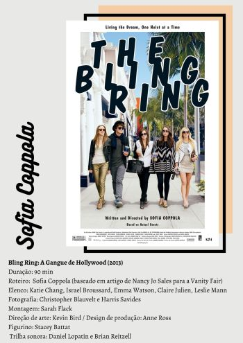 Bling Ring: A Gangue de Hollywood - Arte por Kel Gomes/Cinematório