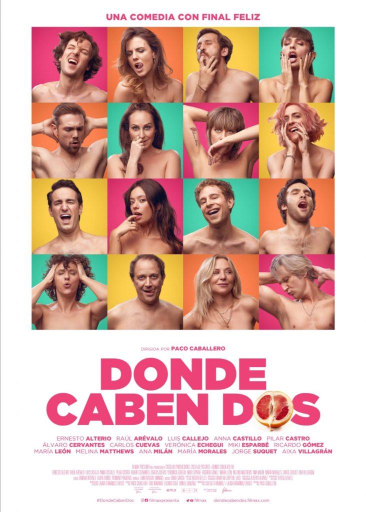 Ver y descargar DONDE CABEN DOS | Torrent y cines | Desnudos y vagina frutal en una nueva comedia española