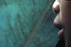 Voci dal buio di Giuseppe Carrisi - dettaglio di bambino congolese