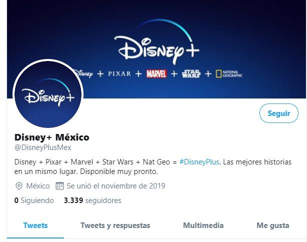 Disney+ México Latinoamérica