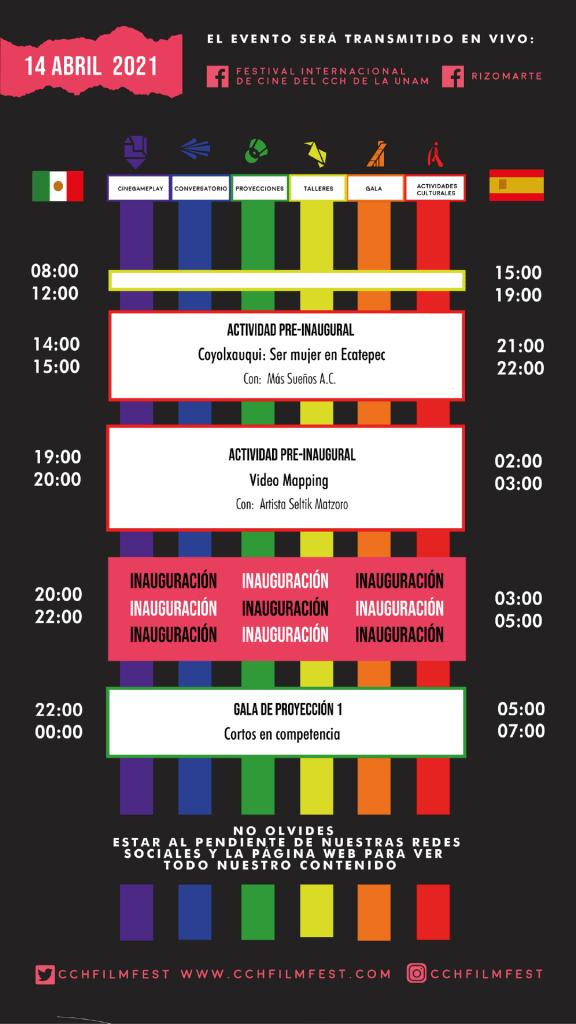 Cecehachero Film Fest programación