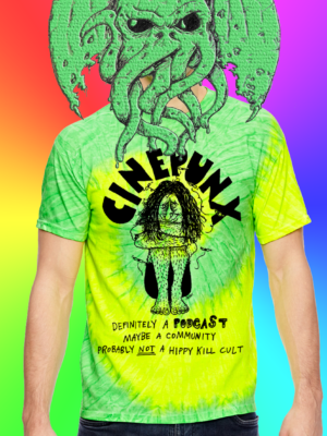 Get into summer AND irrational devotion with these cult classic shirts!!  Lemon-Lime Version