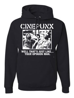Cinepunx, abides! Winter is fast approaching, like our deaths, and perhaps you would like to meet the grime spectre of the beyond in one of our sharp hoods.